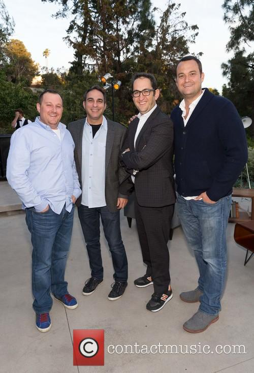 William Sherak, Adam Lilling, Greg Silverman and Jamie Patricof 3