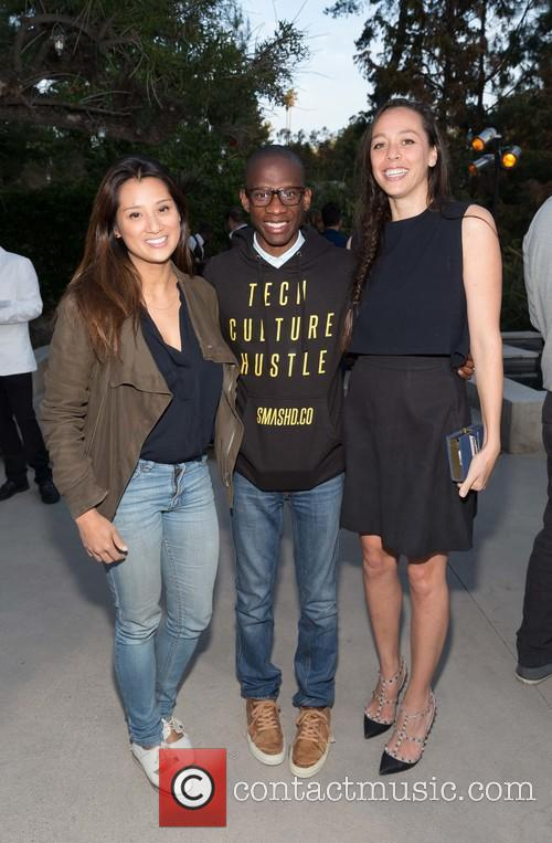 Evelyn Rusli, Troy Carter and Angela Sutherland 4