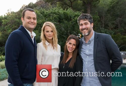 Jamie Patricof, Kely Sawyer Patricof, Soleil Moon Frye and Jason Goldberg 1