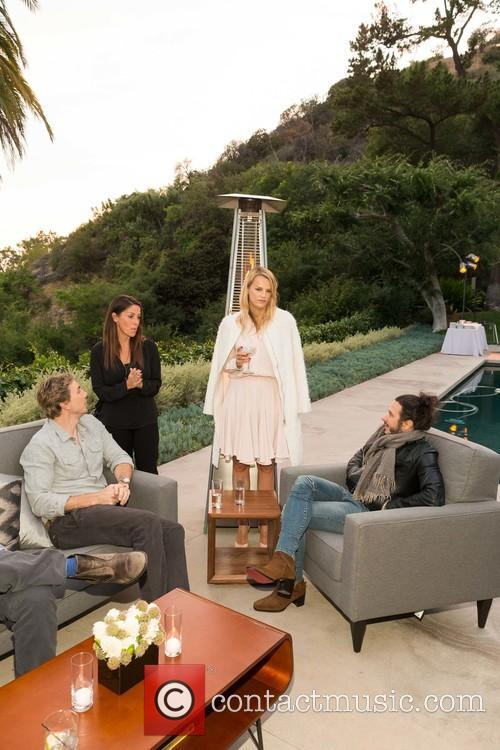 Dax Shepard, Soleil Moon Frye, Kelly Sawyer Patricof and Andrew Panay