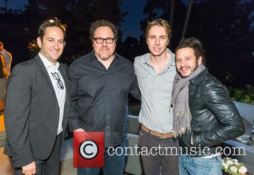 Greg Silverman, Jon Favreau, Dax Shepard and Andrew Panay