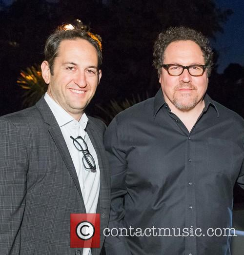 Greg Silverman and Jon Favreau 2