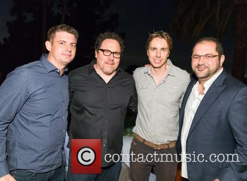Kevin Gibbon, Jon Favreau, Dax Shepard and Shervin Pishevar 6