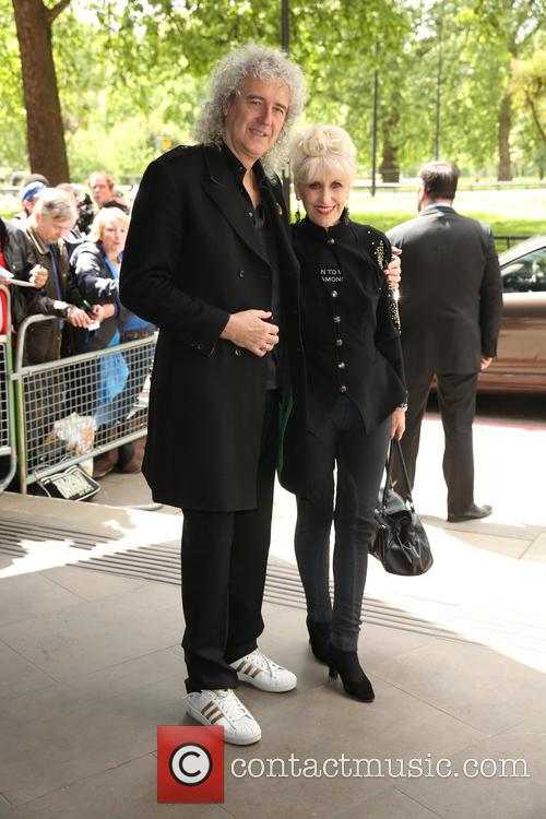 Brian May and Anita Dobson 1