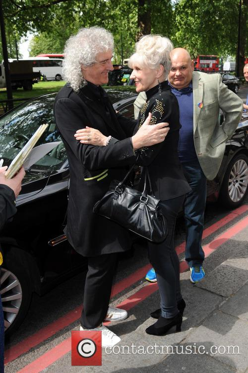 Brian May, Anita Dobson and Ivor Novello 2