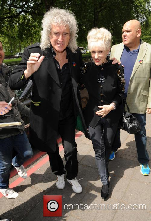 Brian May, Anita Dobson and Ivor Novello 3
