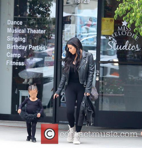 Kim Kardashian and Nori West 3