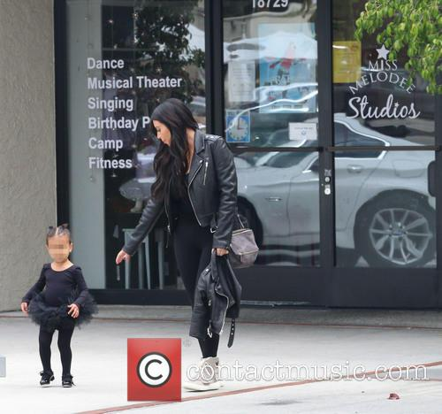 Kim Kardashian and Nori West 4