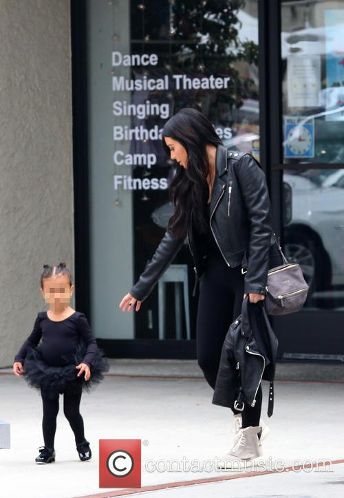 Kim Kardashian and Nori West 5