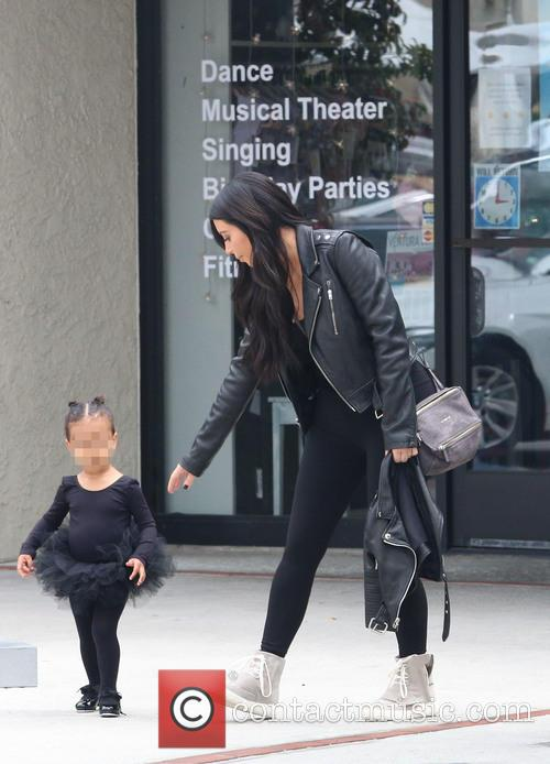 Kim Kardashian and Nori West 6