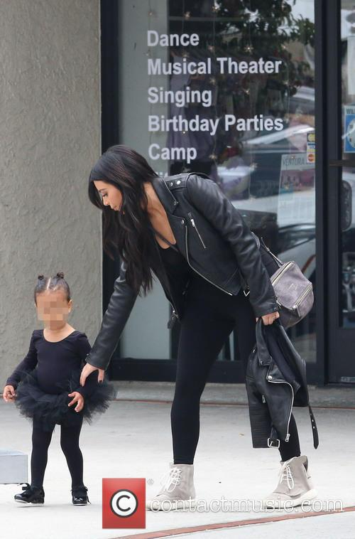 Kim Kardashian and Nori West 7
