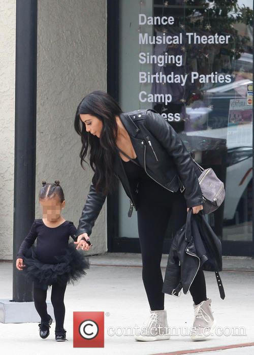 Kim Kardashian and Nori West 8