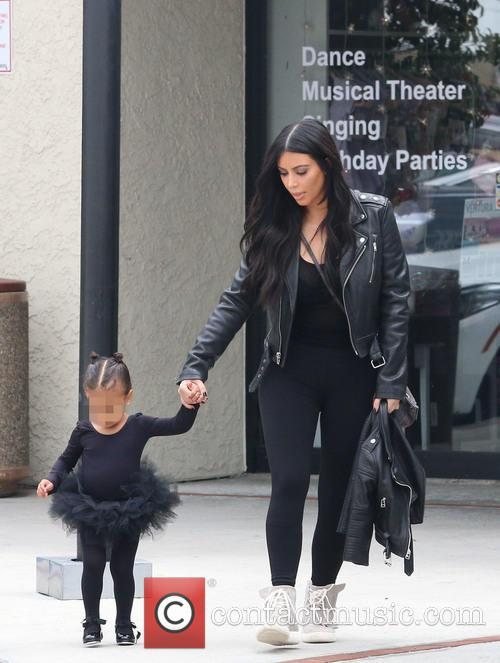Kim Kardashian and Nori West 9