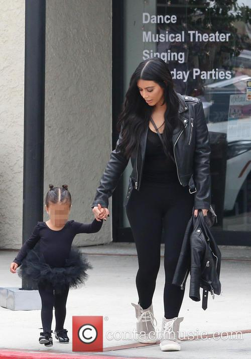 Kim Kardashian and Nori West 10
