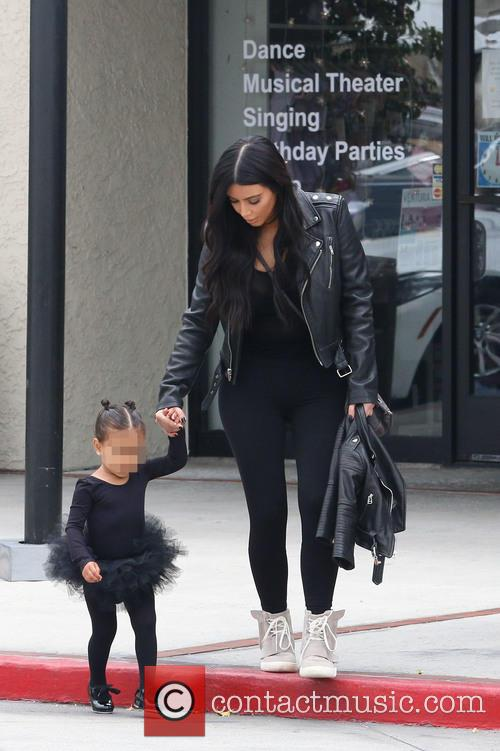 Kim Kardashian and Nori West 11