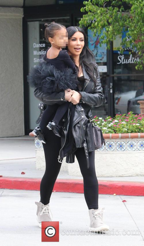Kim Kardashian and Nori West 1