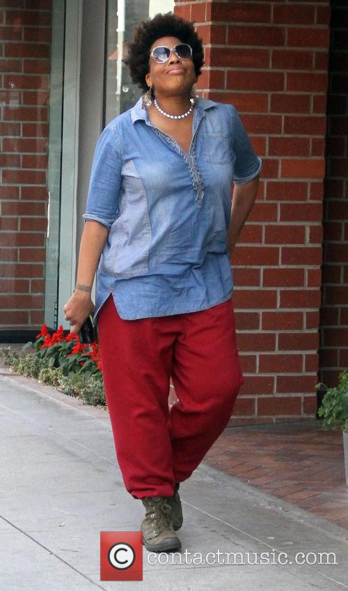 Macy Gray running errands in Beverly Hills