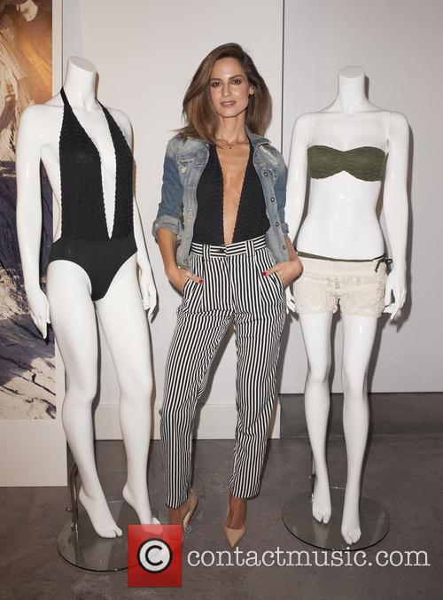 Model Ariadne Artiles presents the 'Capsule Collection'