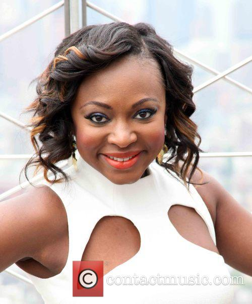 Naturi Naughton at the Empire State Building