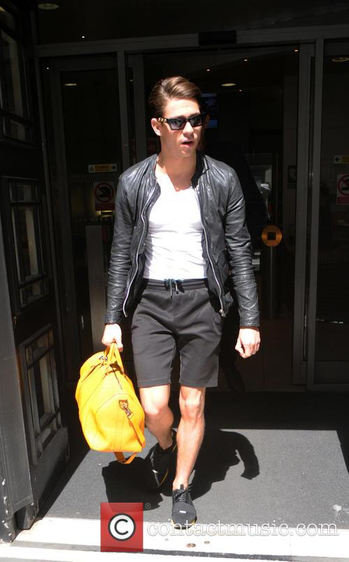 Joey Essex at the BBC Radio 2 studios