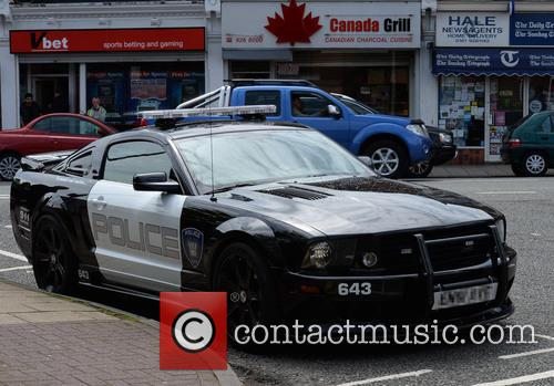 2.8 Saleen Livered and American Police Car 3