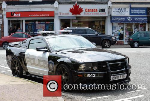 2.8 Saleen Livered and American Police Car 5