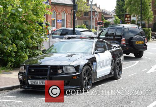 2.8 Saleen Livered and American Police Car 6