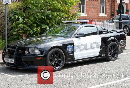 2.8 Saleen Livered and American Police Car 8
