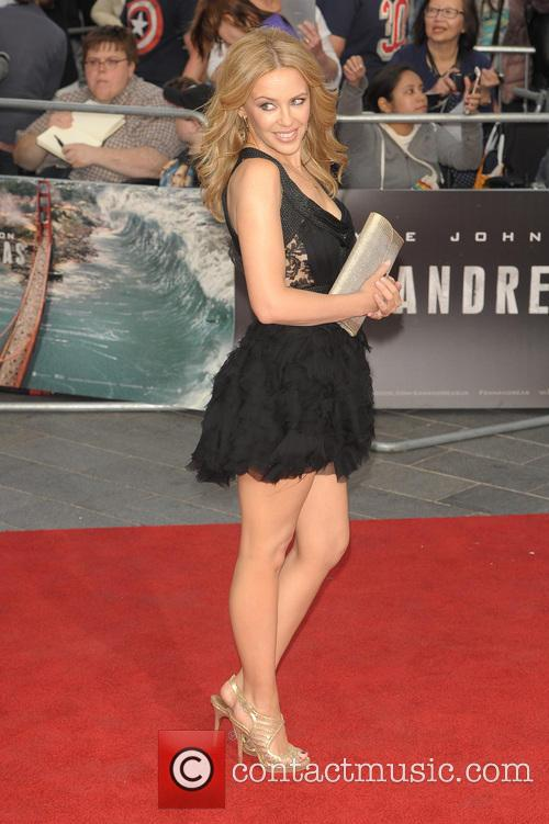 the World Premiere of 'San Andreas' held at...