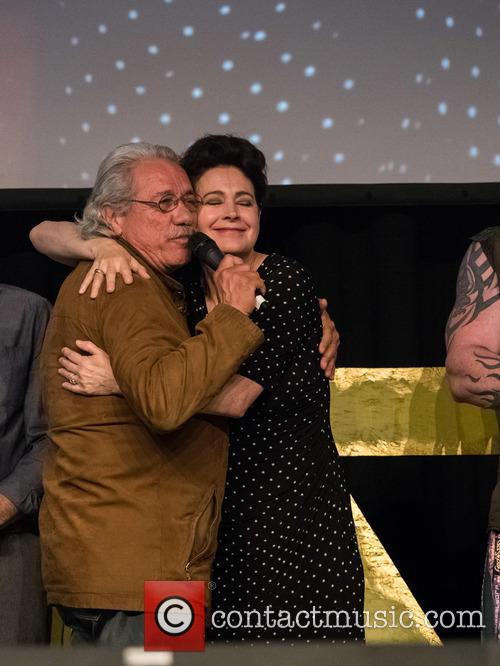 Sean Young and Edward James Olmos 2