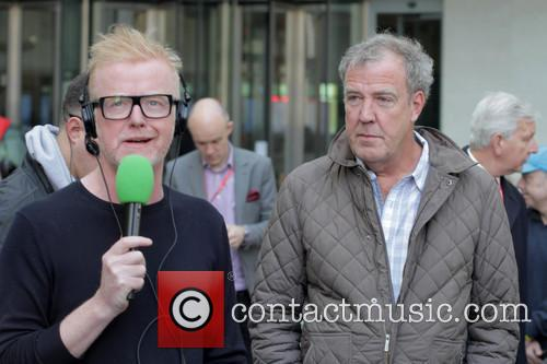 Jeremy Clarkson at the BBC Radio 2 studios