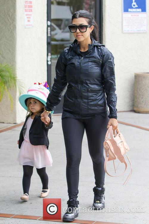 Kourtney Kardashian and Penelope Disick 10