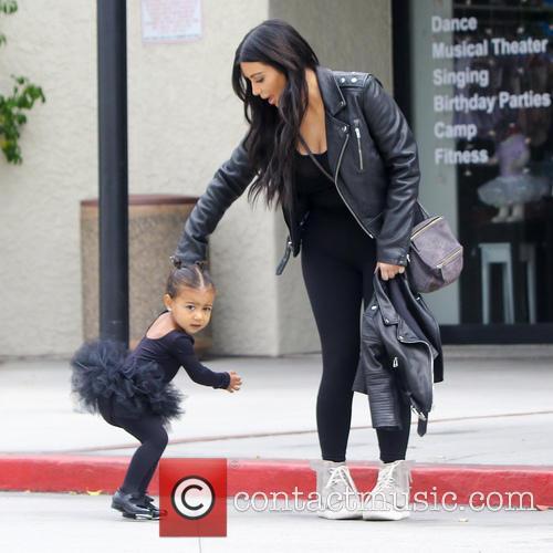 Kim Kardashian and North West 10