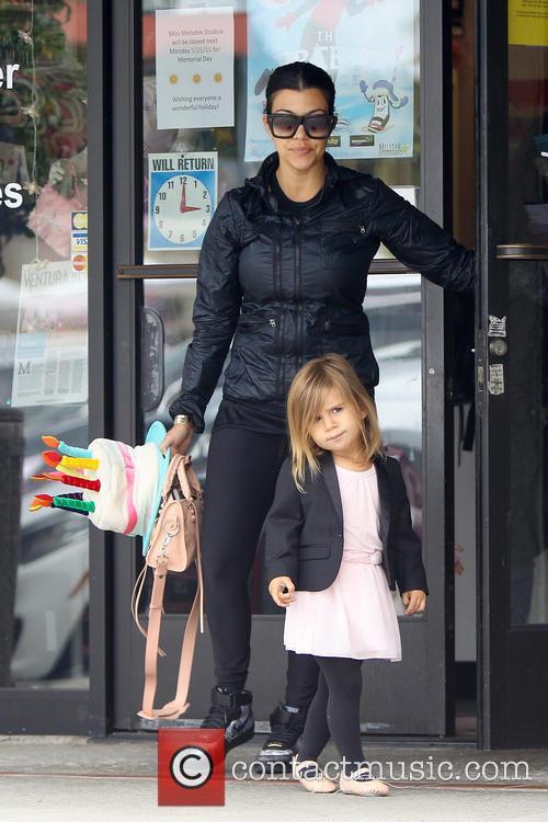 Kourtney Kardashian and Penelope Disick 11