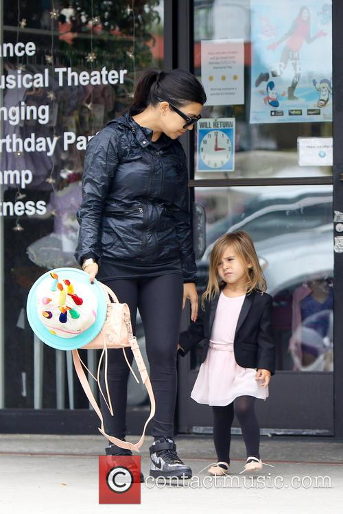 Kim Kardashian And Kourtney Kardashian Take Their Kids...