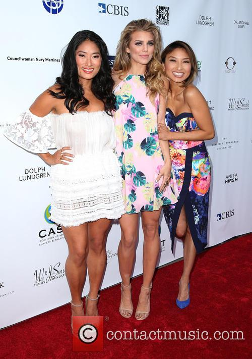 Jenna Ushkowitz, Annalynne Mccord and Jeannie Mai 8