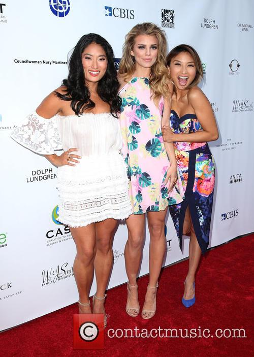 Jenna Ushkowitz, Annalynne Mccord and Jeannie Mai 9
