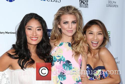Jenna Ushkowitz, Annalynne Mccord and Jeannie Mai 10