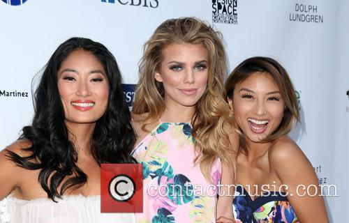 Jenna Ushkowitz, Annalynne Mccord and Jeannie Mai 11