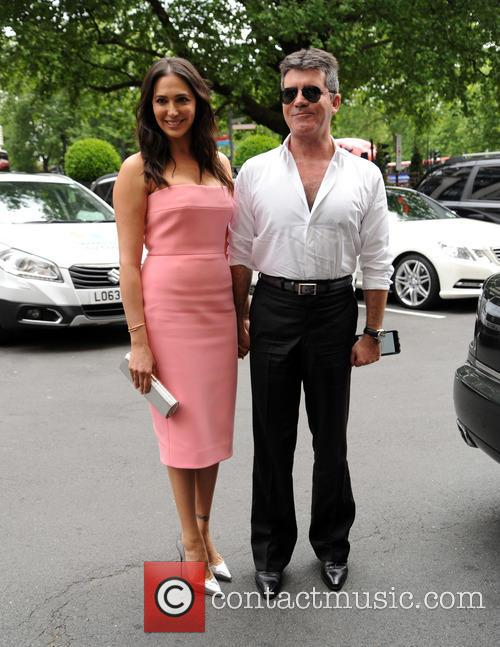 Lauren Silverman and Simon Cowell 2