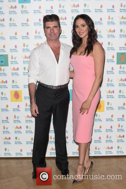 Simon Cowell and Lauren Silverman 3
