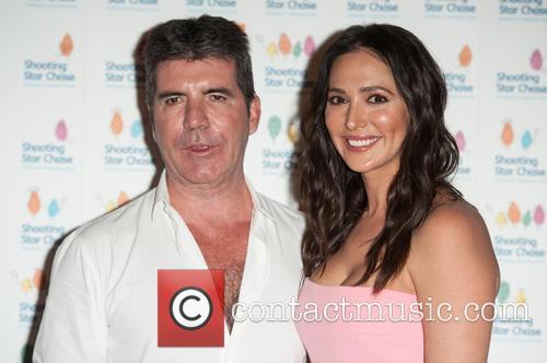 Simon Cowell and Lauren Silverman 1