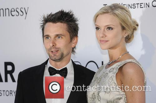Matt Bellamy and Elle Evans