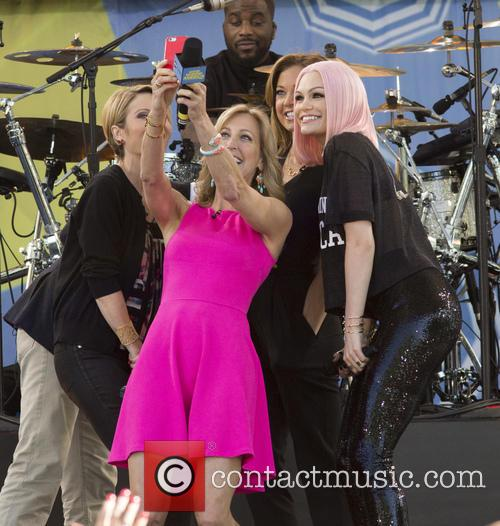 Jessie J, Amy Robach, Ginger Zee and Lara Spencer
