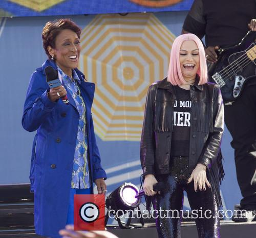 Jessie J performs on the 2015 GMA Summer...