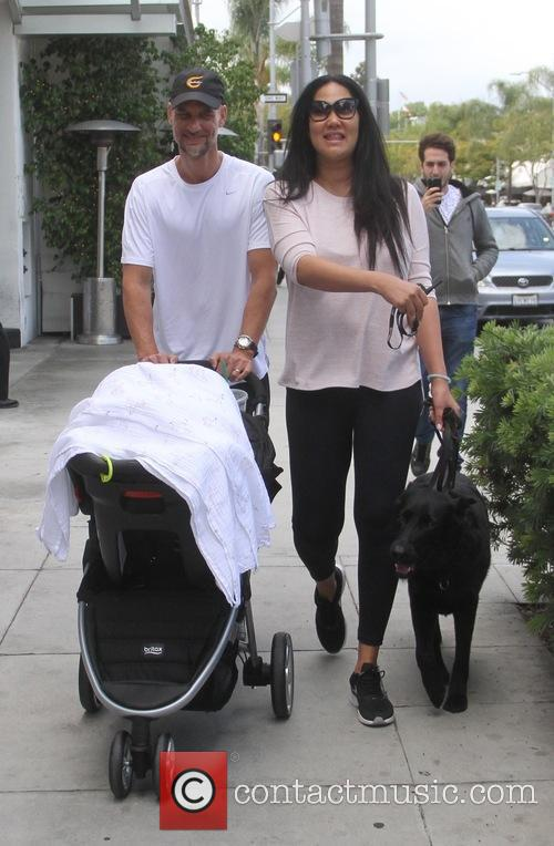 Kimora Lee Simmons spotted out with her family...