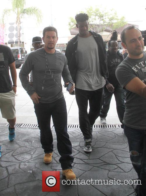 Mark Wahlberg, Mark Wahlbeg and Jimmy Butler 4