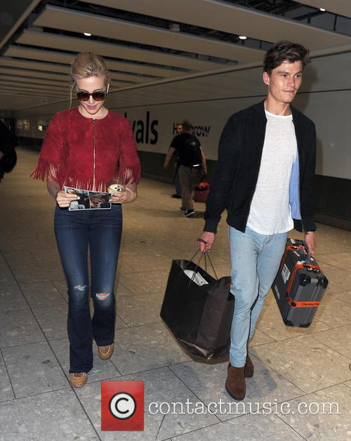 Pixie Lott and Oliver Cheshire 8