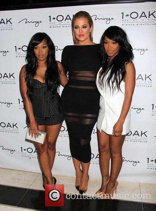 Khadijah Haqq, Khloe Kardashian and Malika Haqq 2