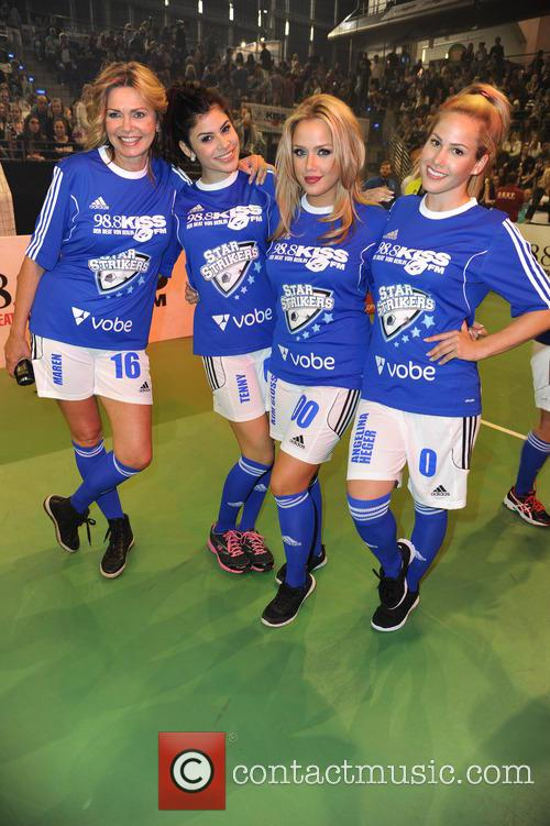 Maren Gilzer, Tanja Tischewitsch, Kim Gloss and Angelina Heger 2